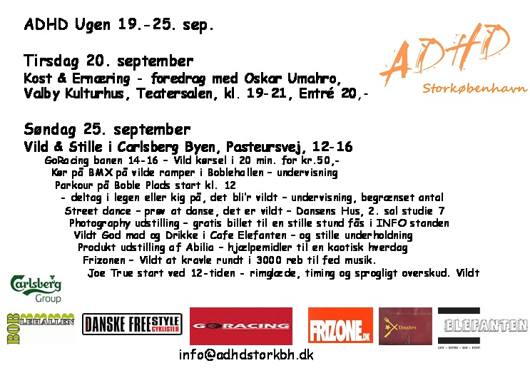Program for ADHD Ugen 2011